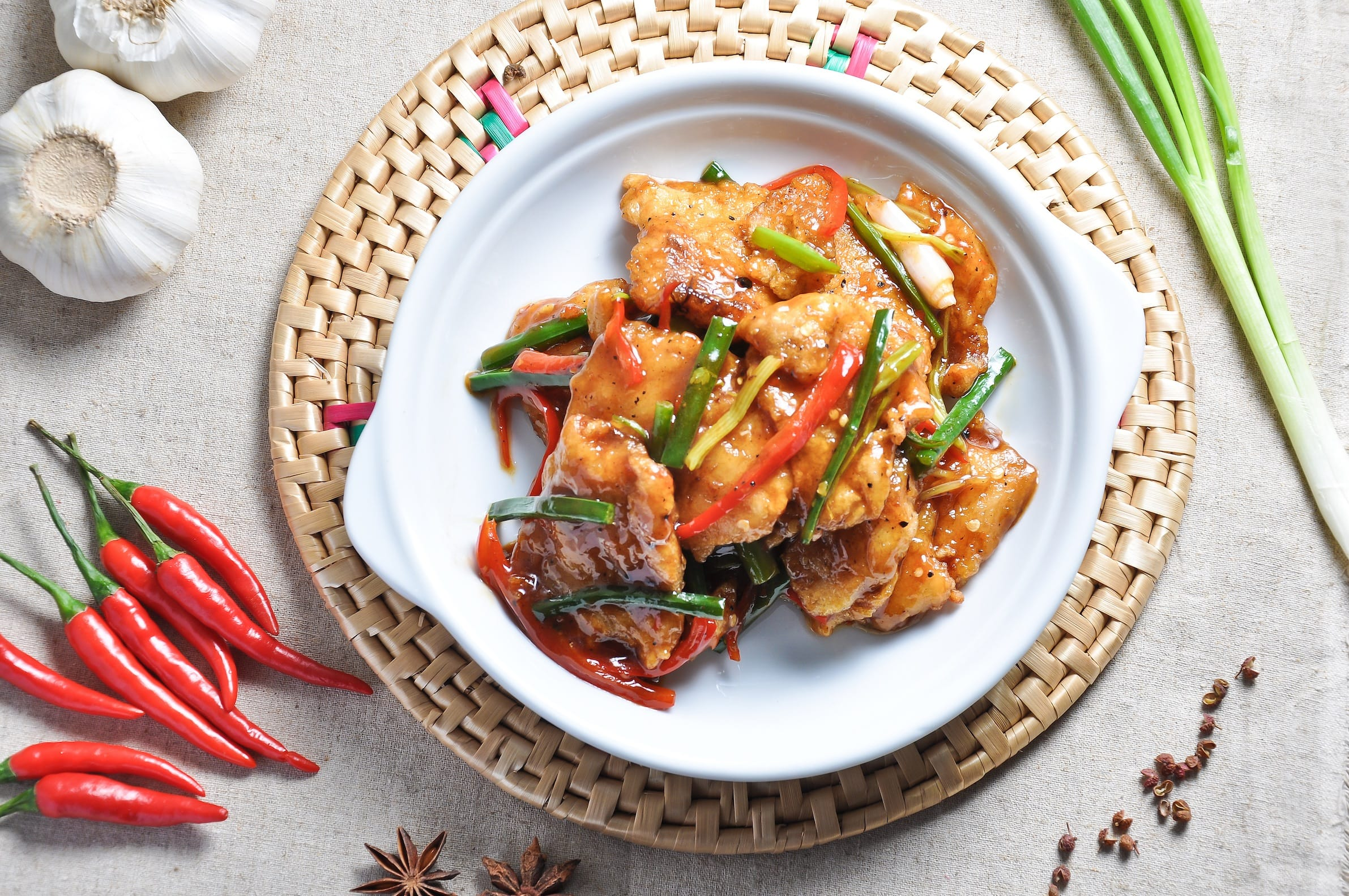 Stir Fried Fish Fillets with Pepper