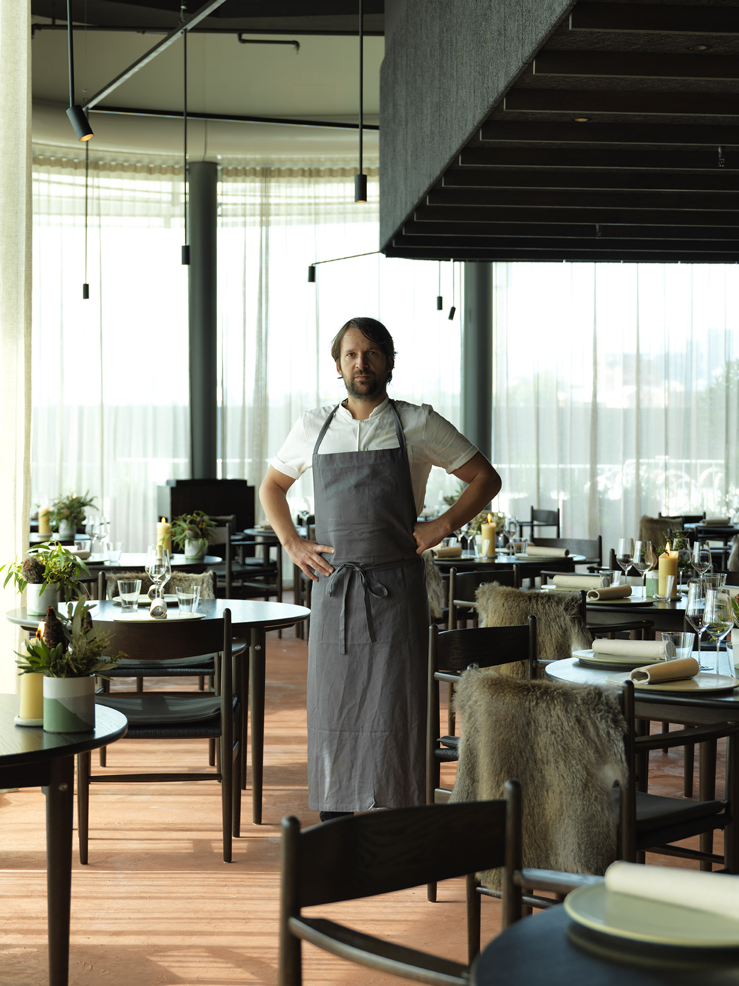 Don't Panic Says Chef Rene Redzepi