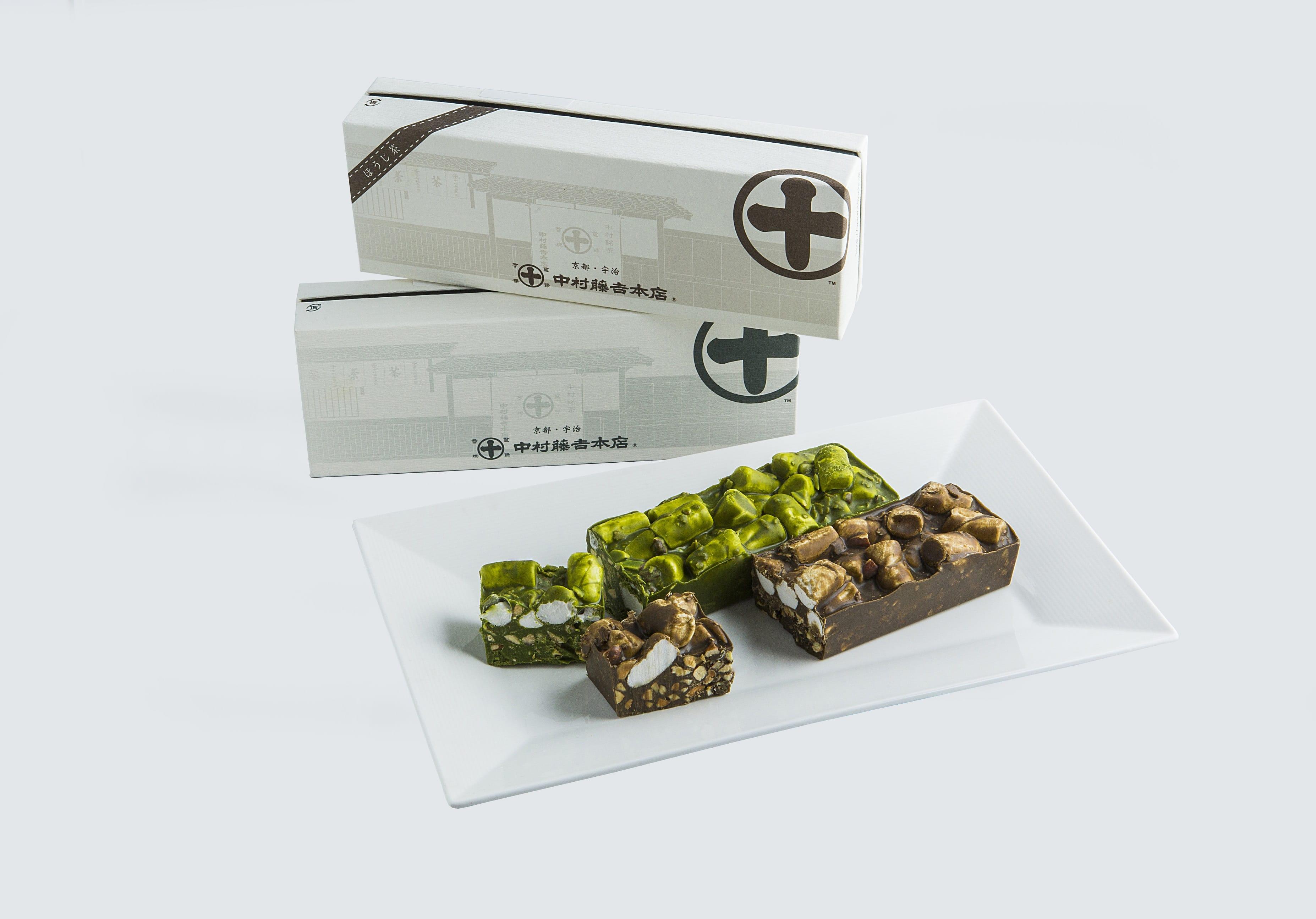 Nakamura Tokichi, Matcha Hojicha, Japanese Tea Chocolate