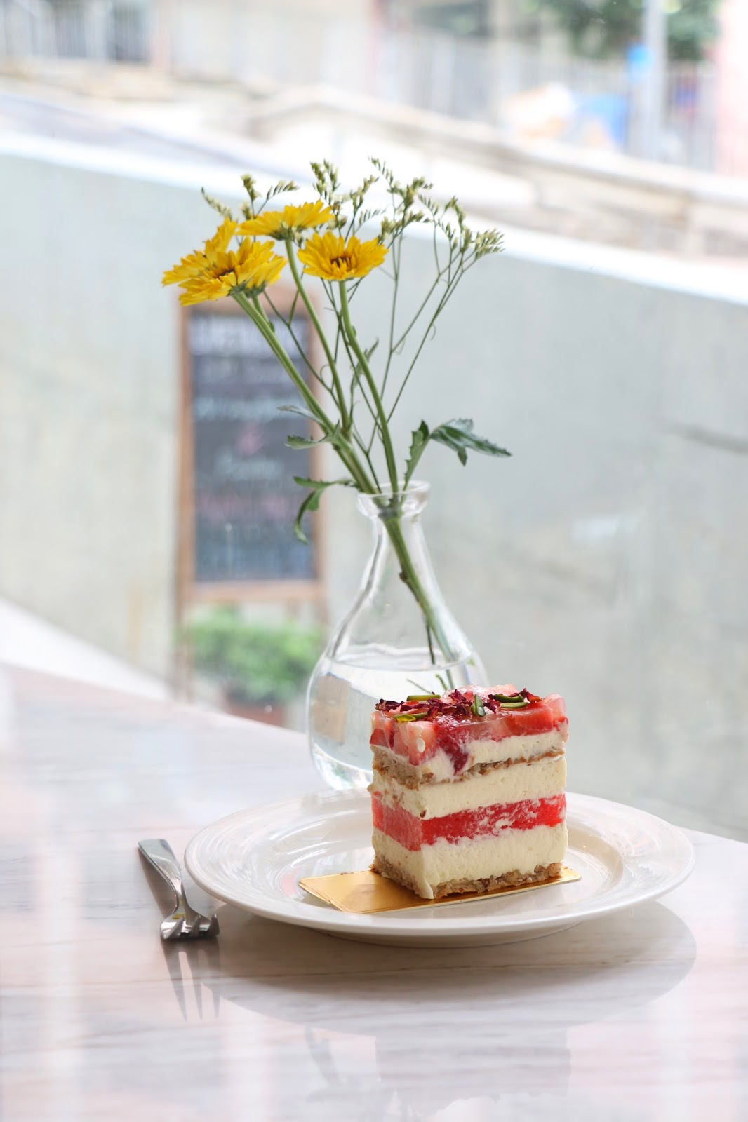 LIFETASTIC, signature-tastic, strawberry watermelon rose cake
