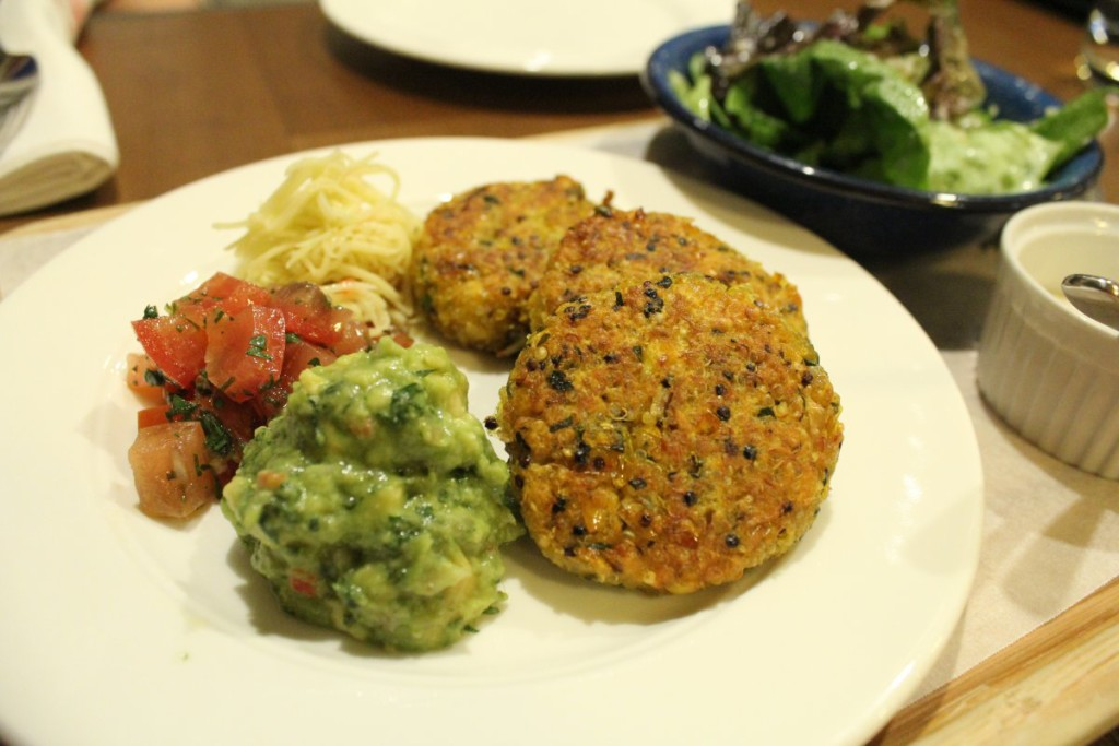 The Quinoa & Sweet Corn Cakes