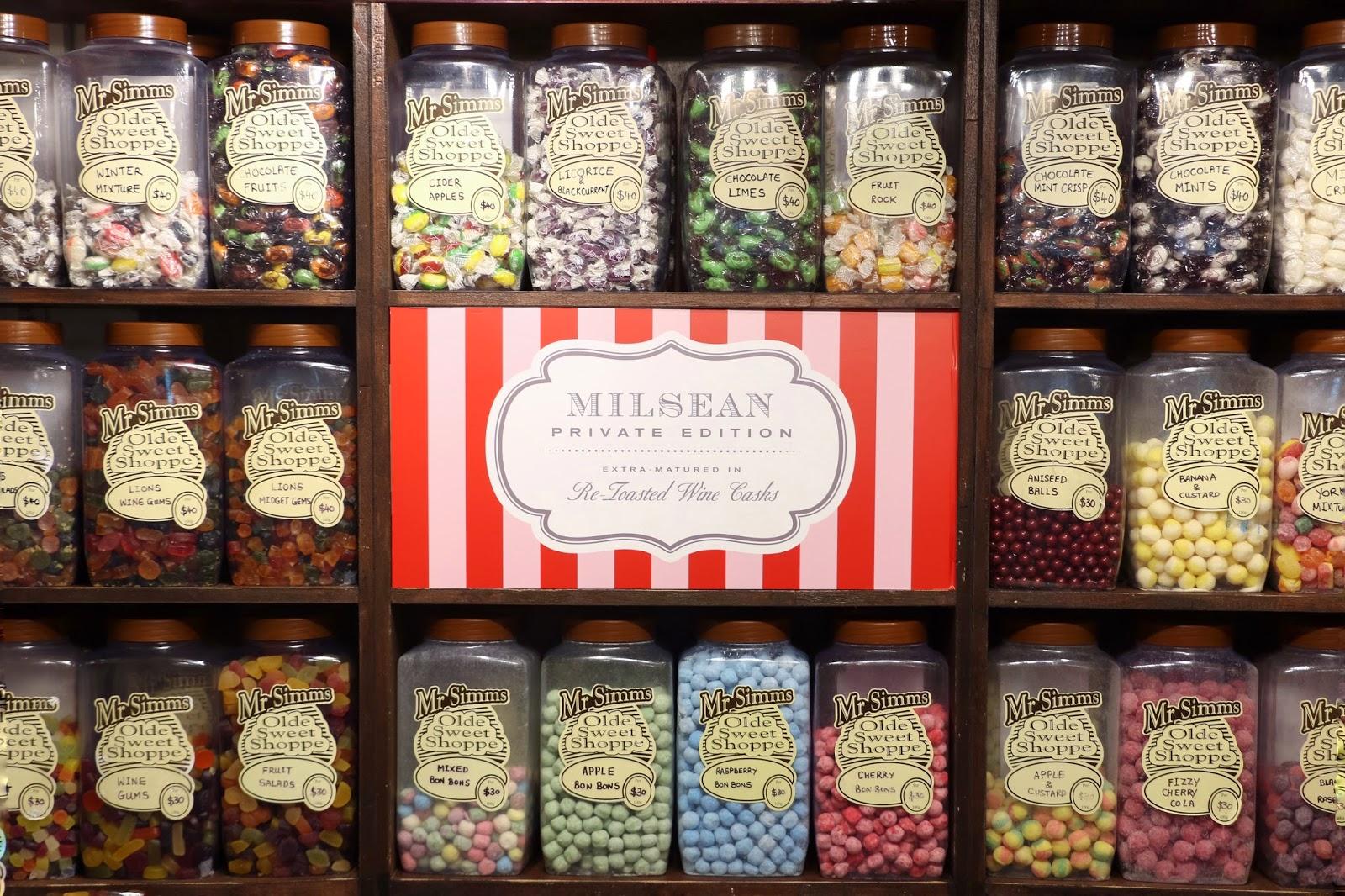 Glenmorangie Milsean, Mr Simms Olde Sweet Shoppe