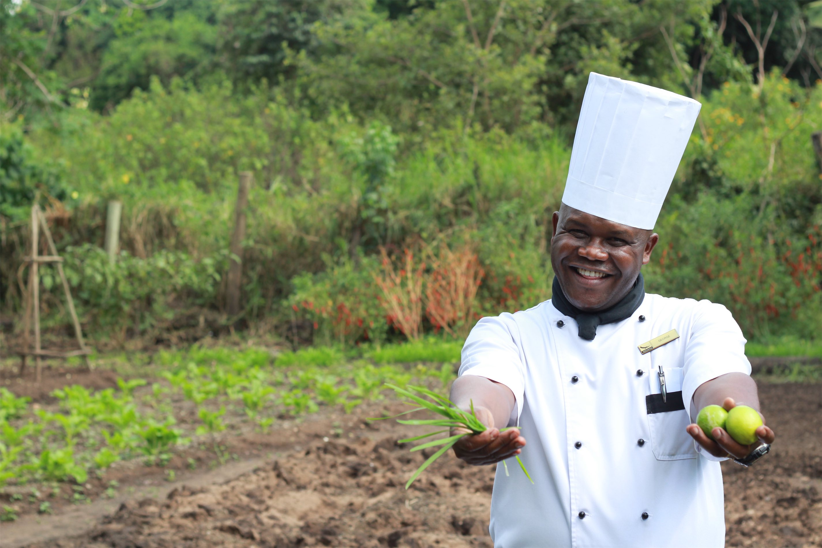 Chef George at Kichwa Tembo