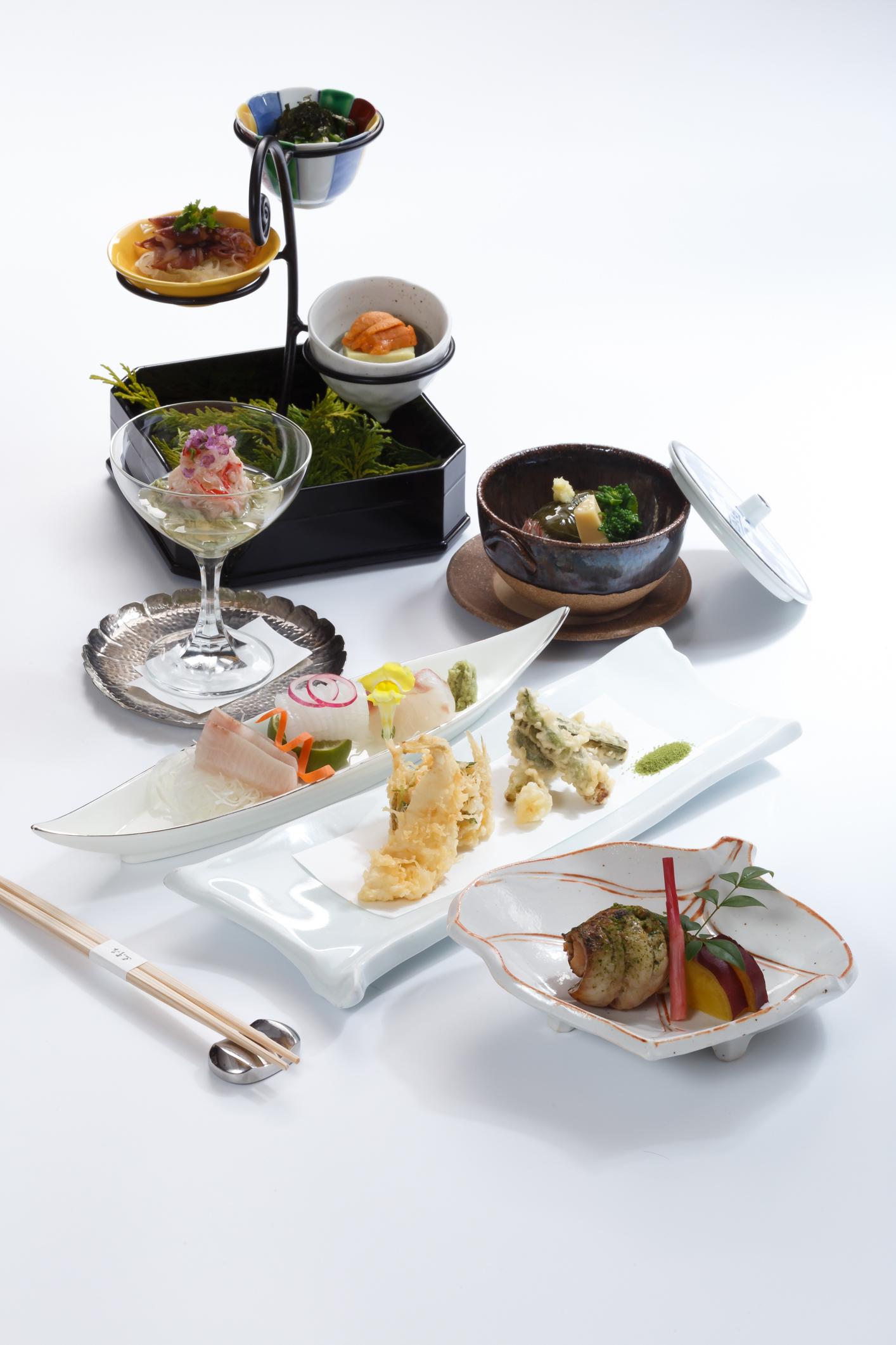 Kowloon Shangri-La, Matcha Green Tea, Nadaman, Kaiseki