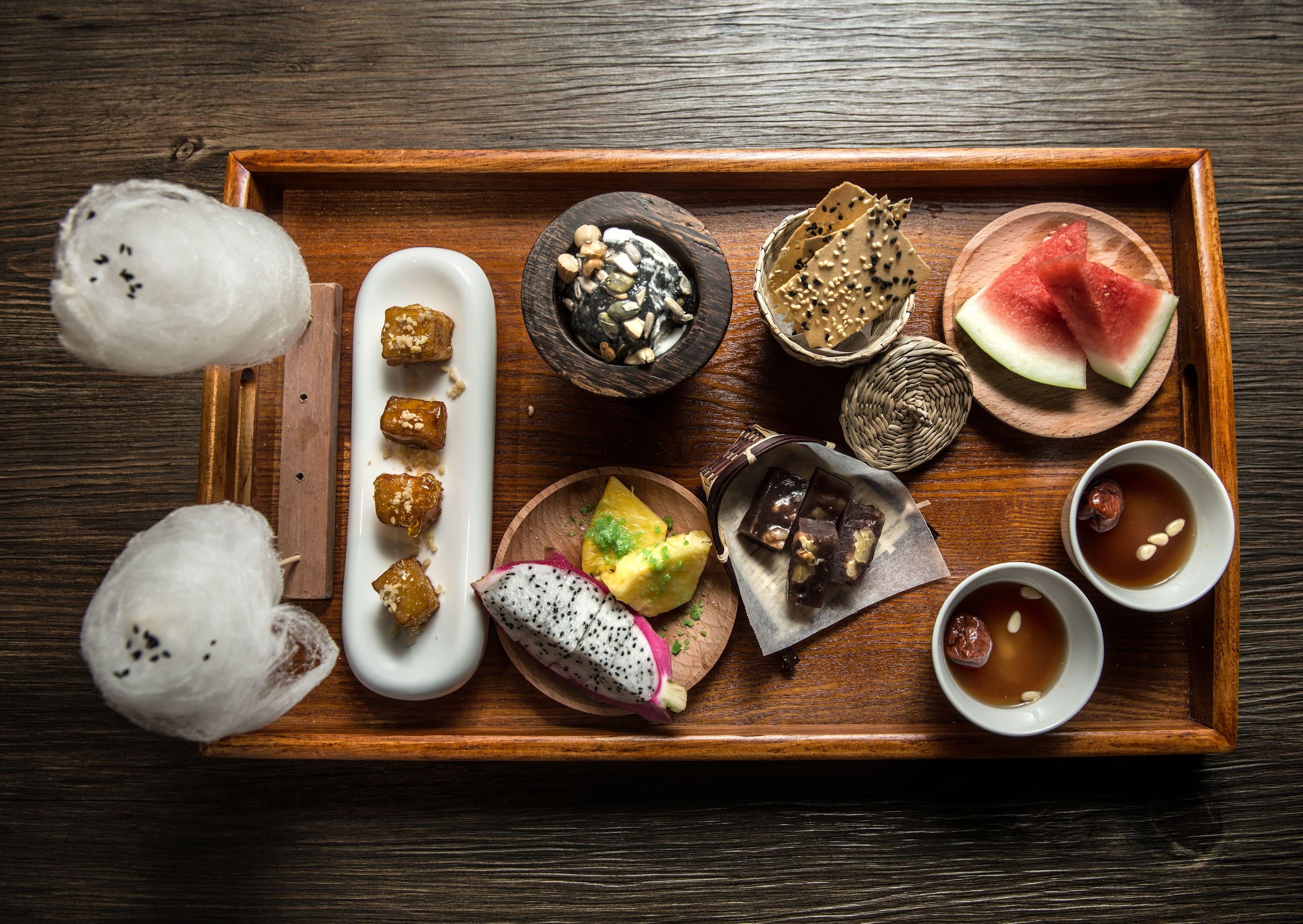 Korean Dessert Platter