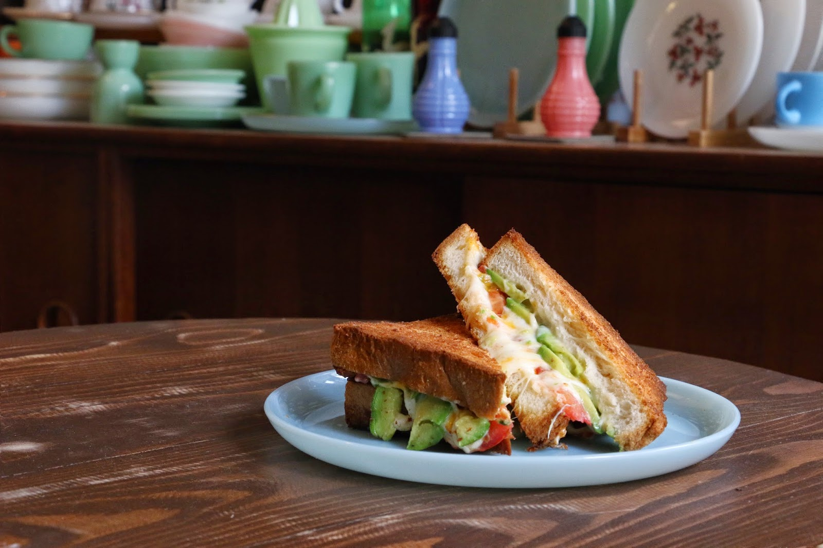 Artisan Garden Cafe, Sai Ying Pun, Grilled Cheese Avocado Sandwich