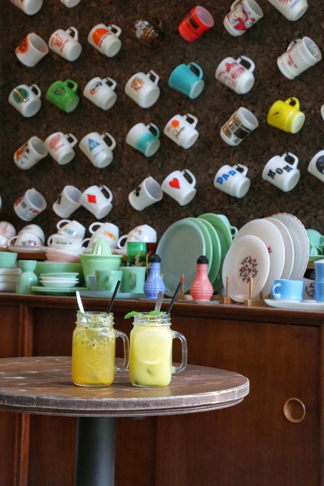 Artisan Garden Cafe, Sai Ying Pun, Passionfruit Squash, Lemonade