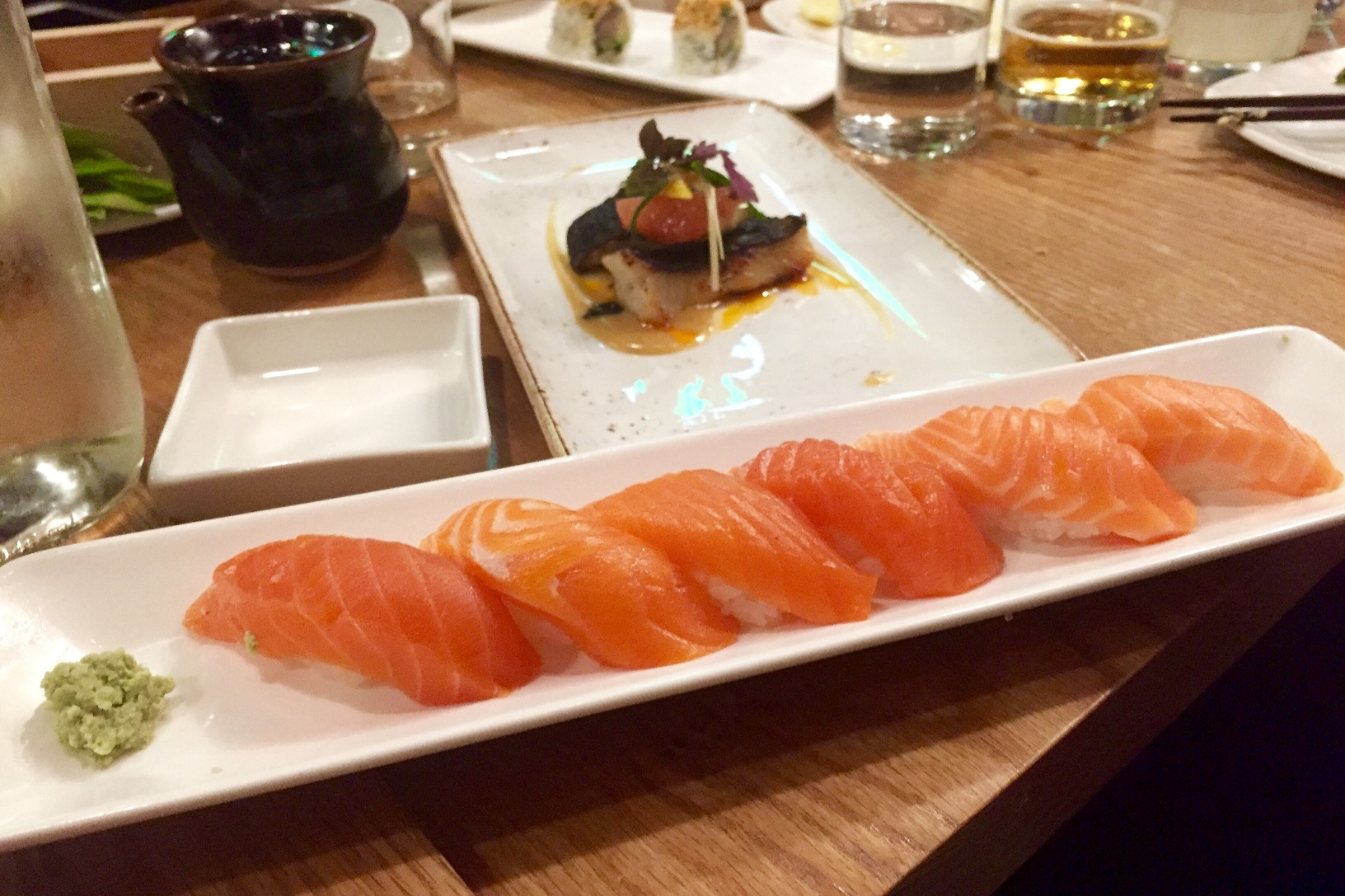 Salmon flight