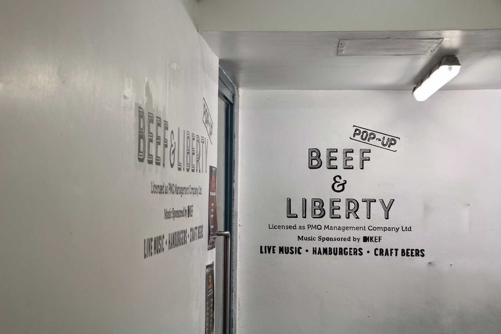 Beef & Liberty PMQ Pop-up