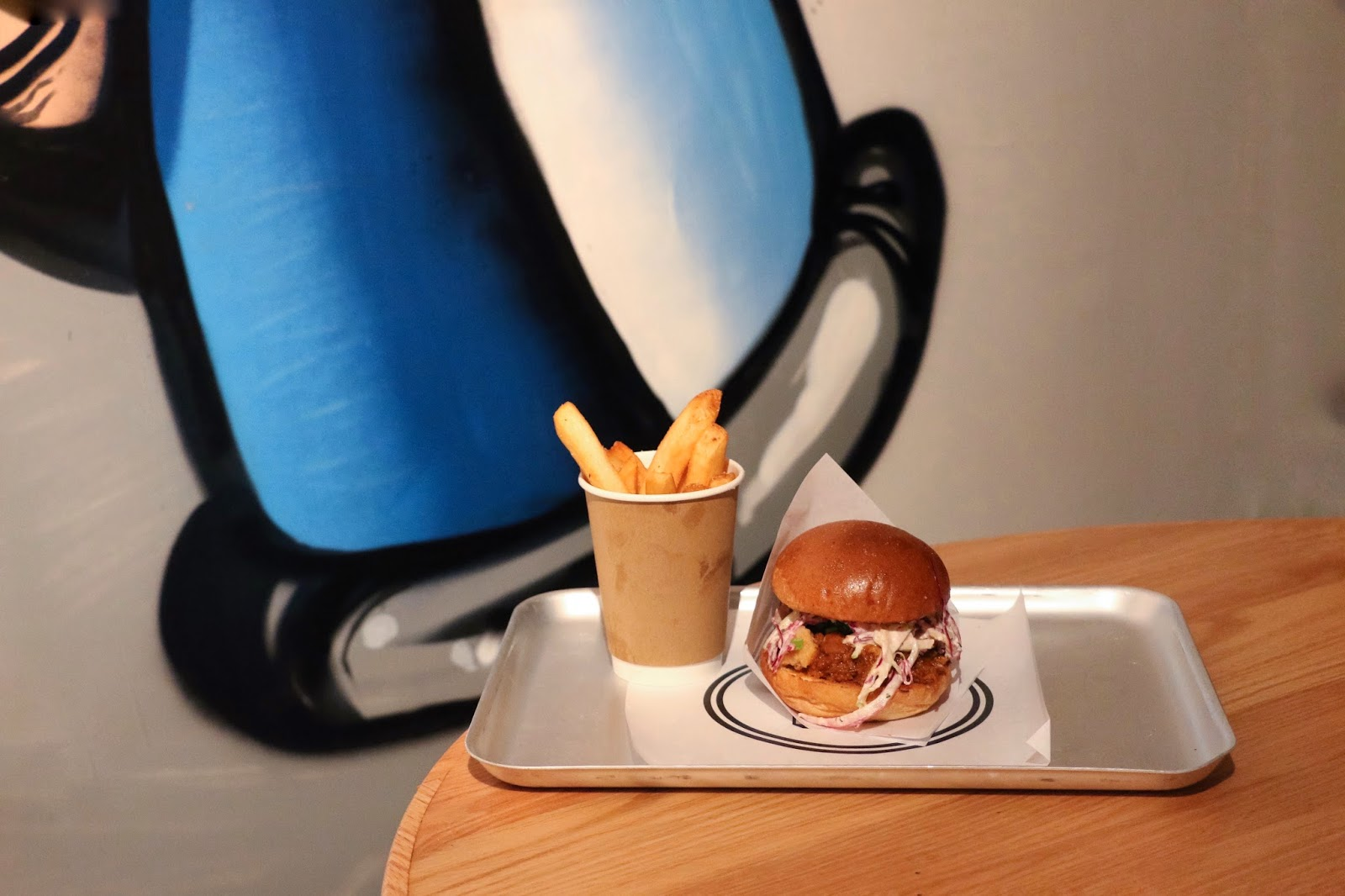 Beef & Liberty PMQ Pop-up, Notorious P.I.G. burger, liberty fries