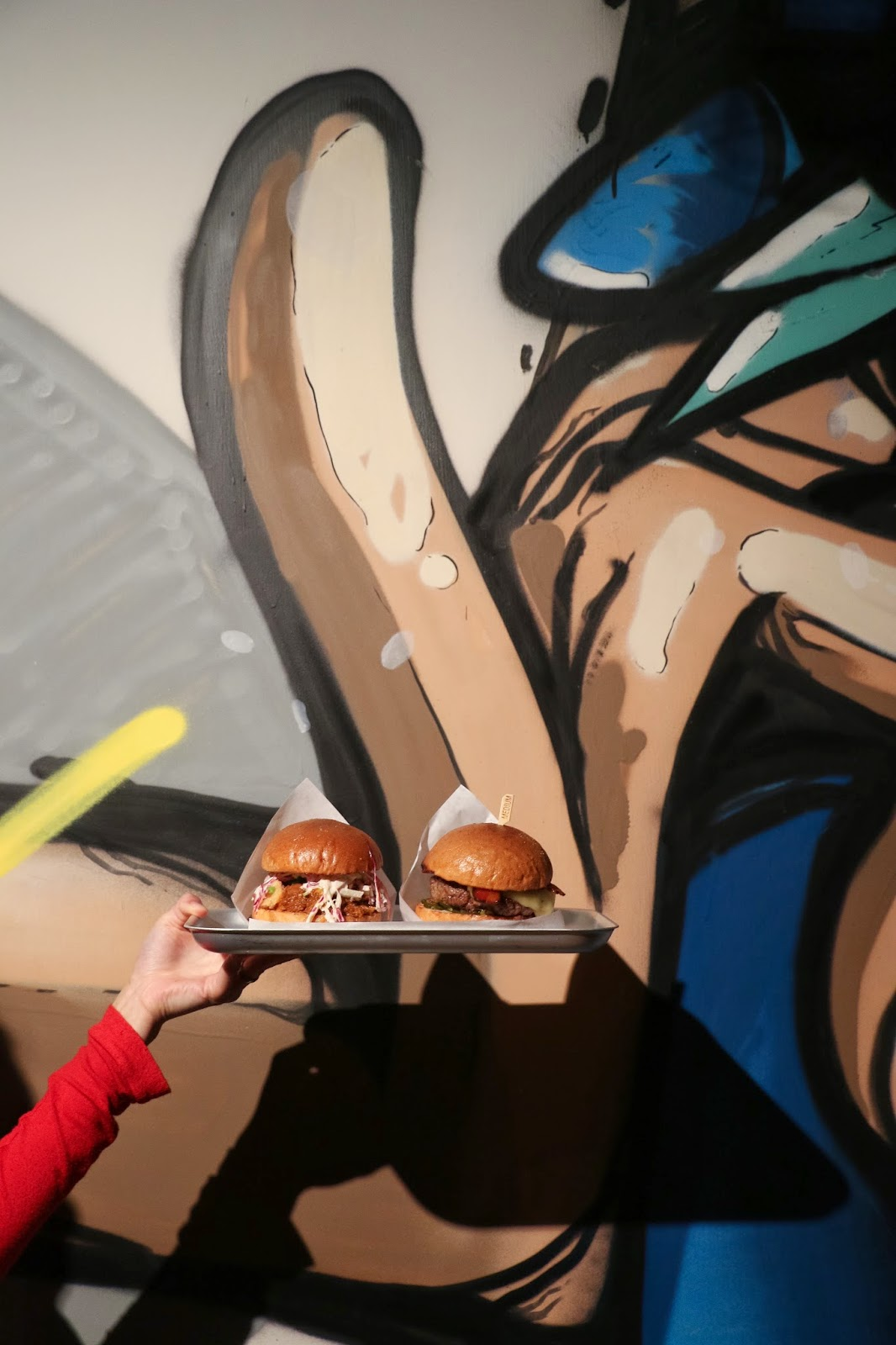 Beef & Liberty PMQ Pop-up, Notorious P.I.G, Bacon Cheese Burgers