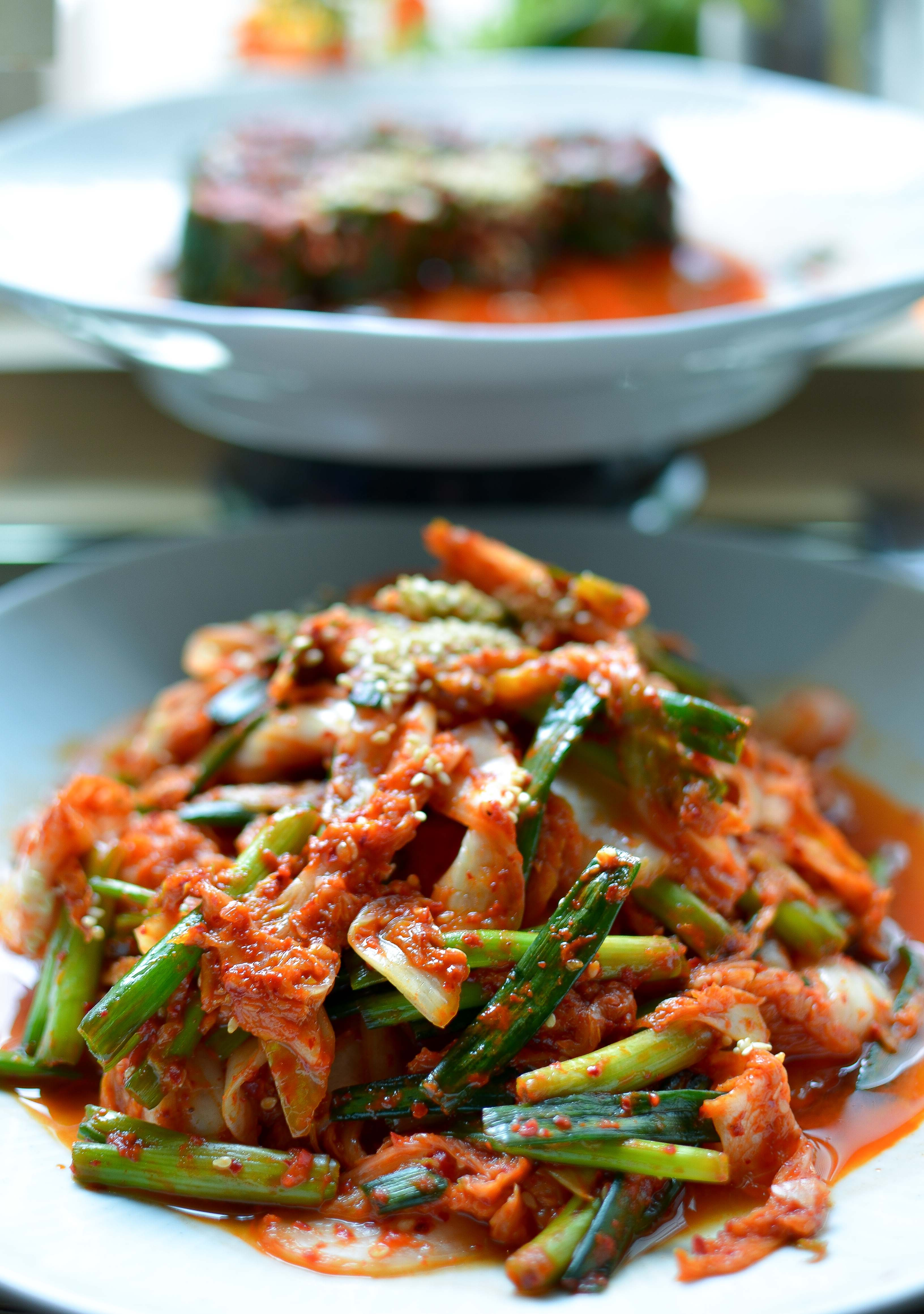 Fresh in-house made Kimchi