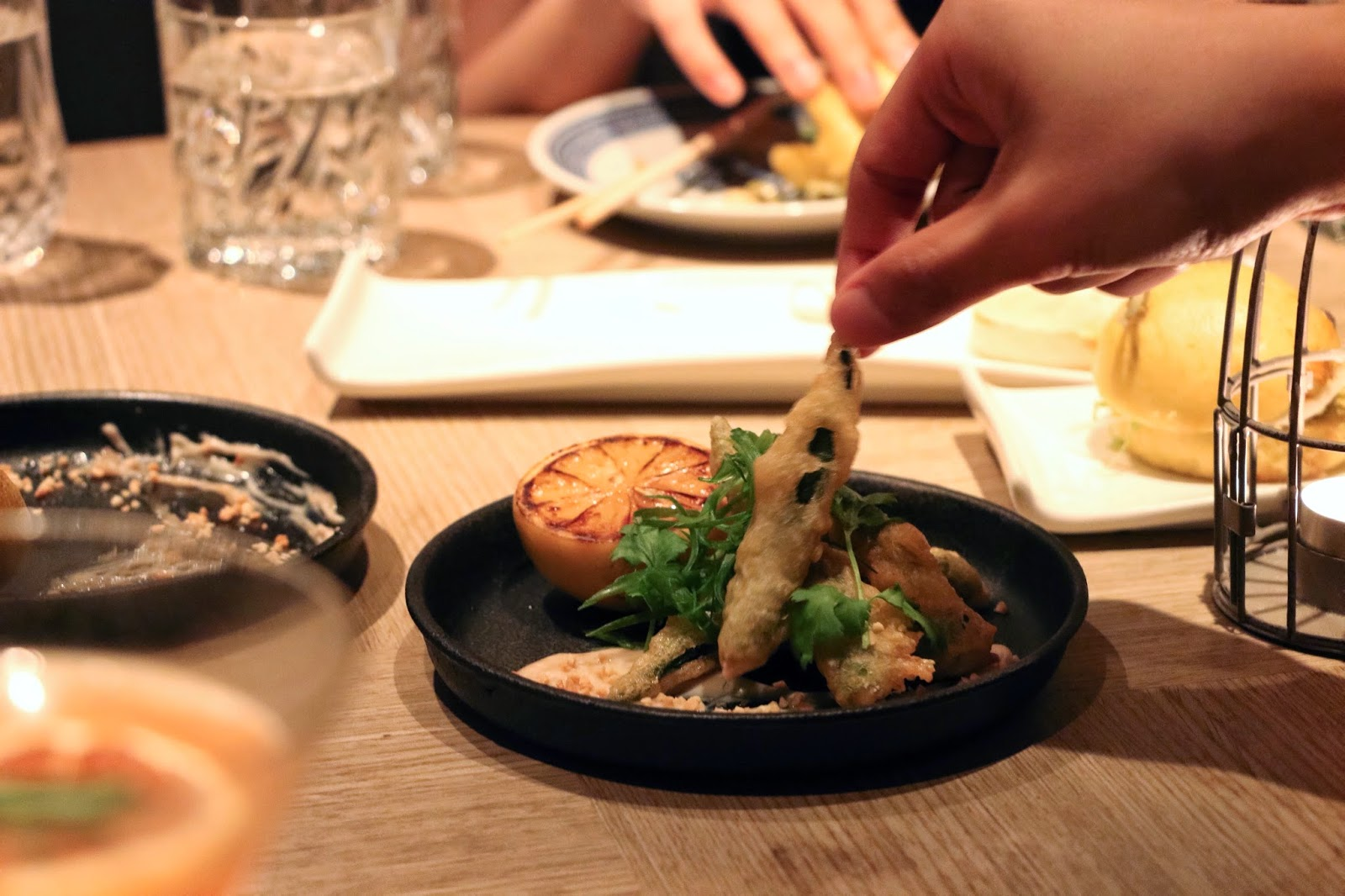 #BBxBB Bao Bei x Bread & Beast, Bao, Okra Tempura