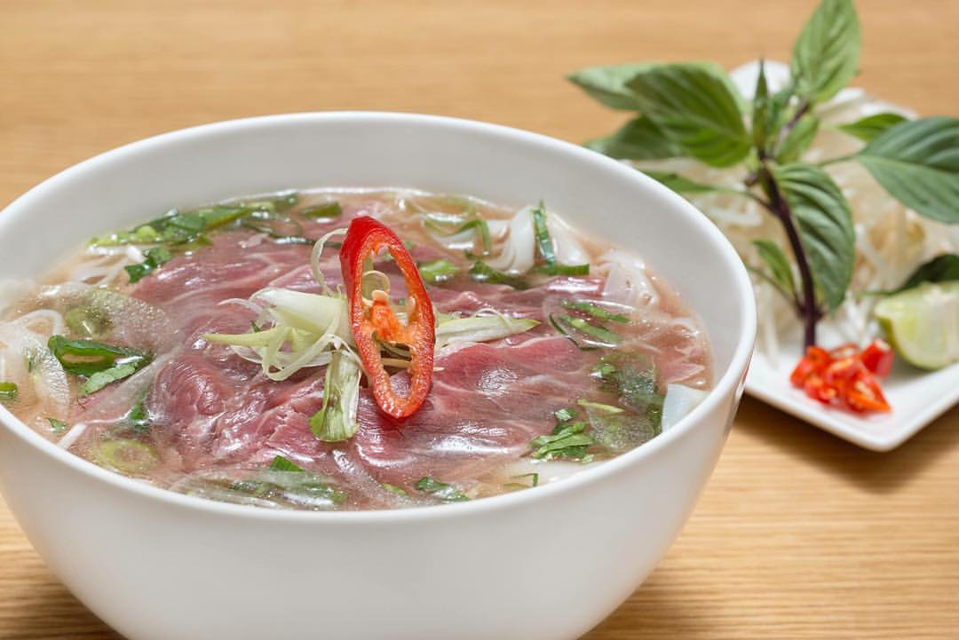 beef pho at Noodlemi