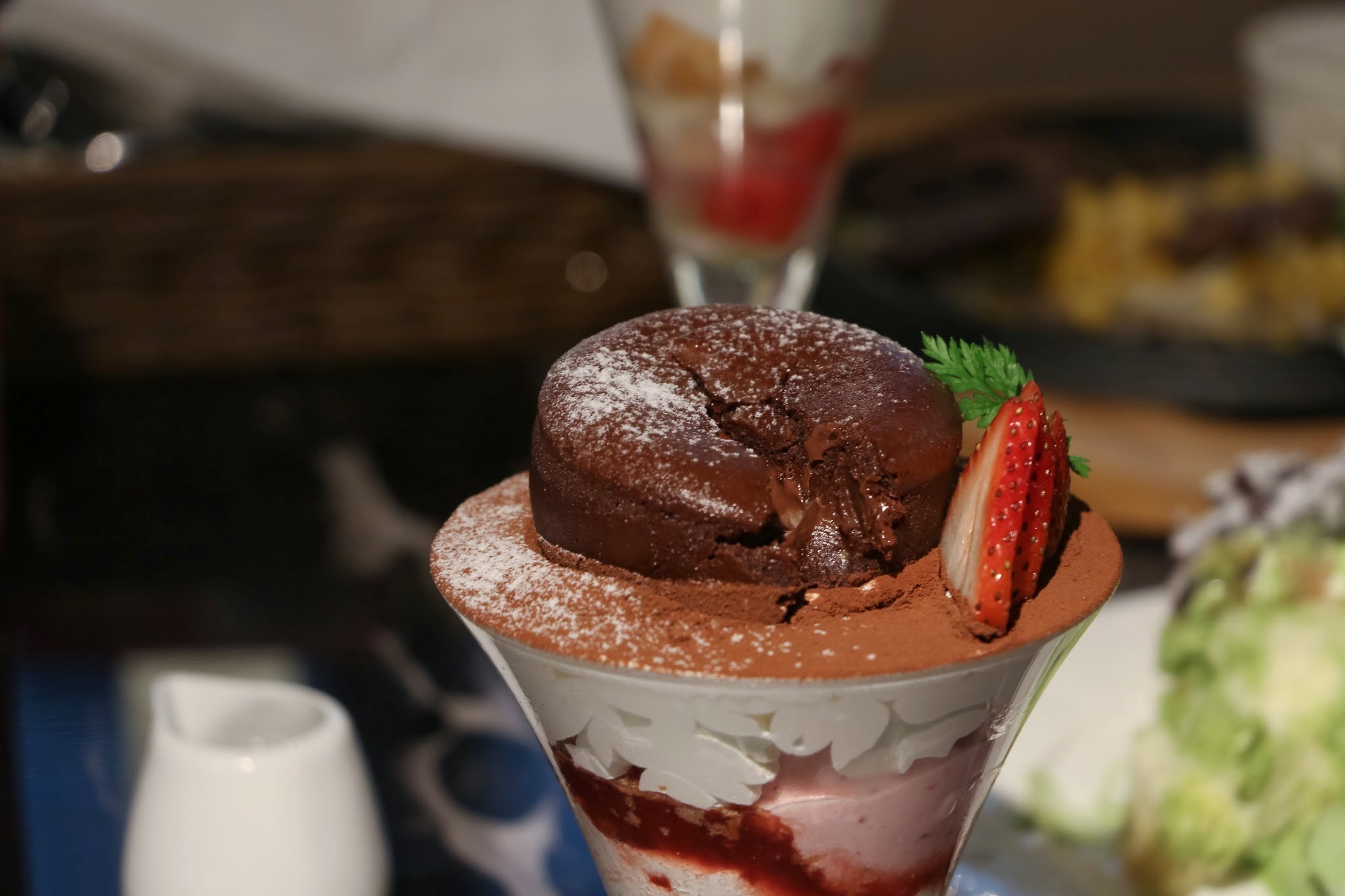 UFUFU CAFE Hong Kong, Chocolate Fondant Parfait