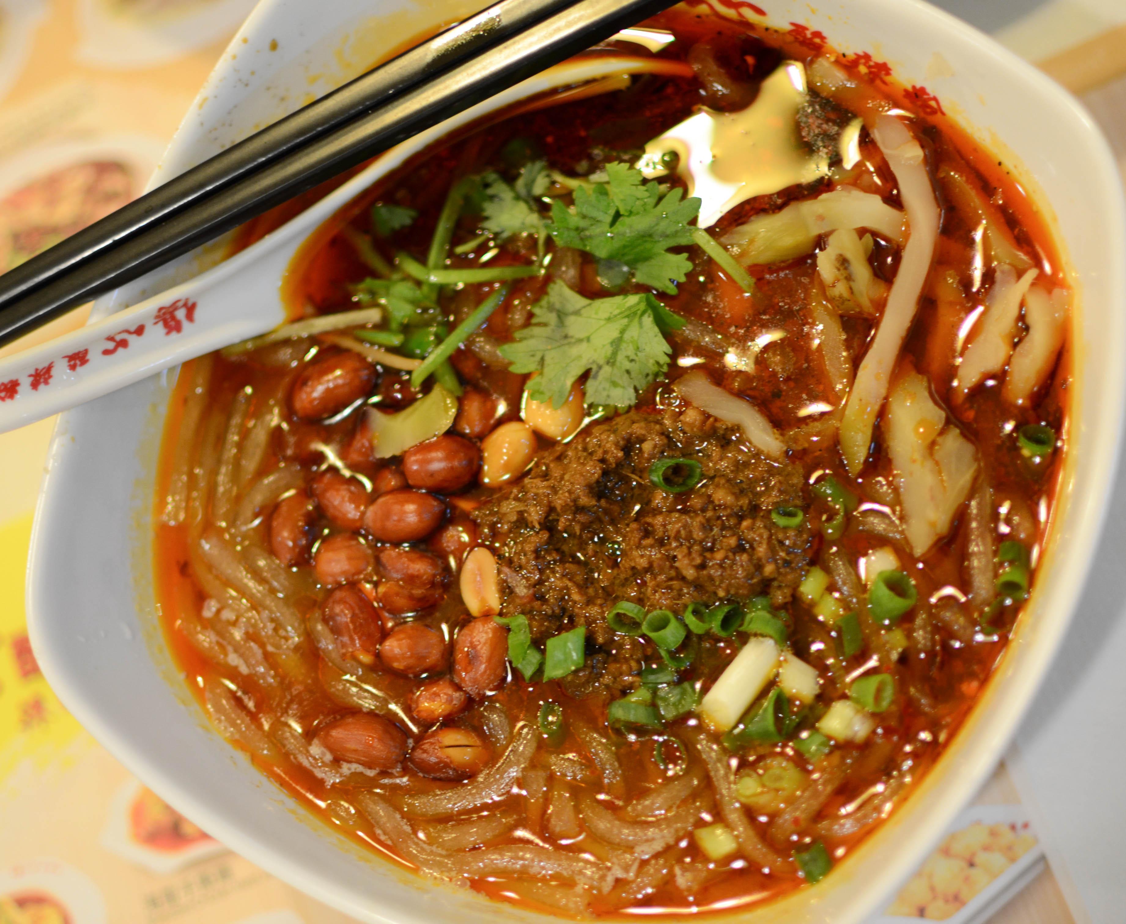 Sad Sour Spicy Noodles