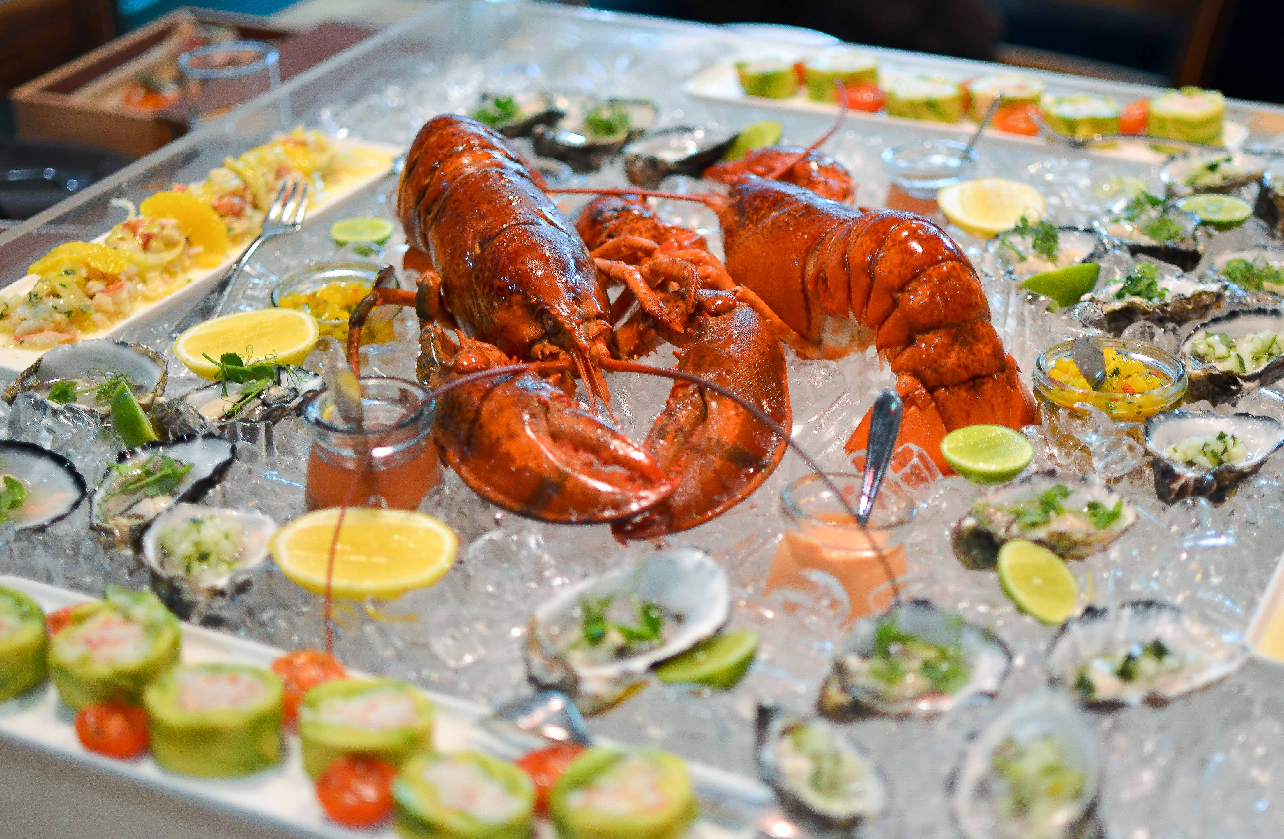 Seafood Trough