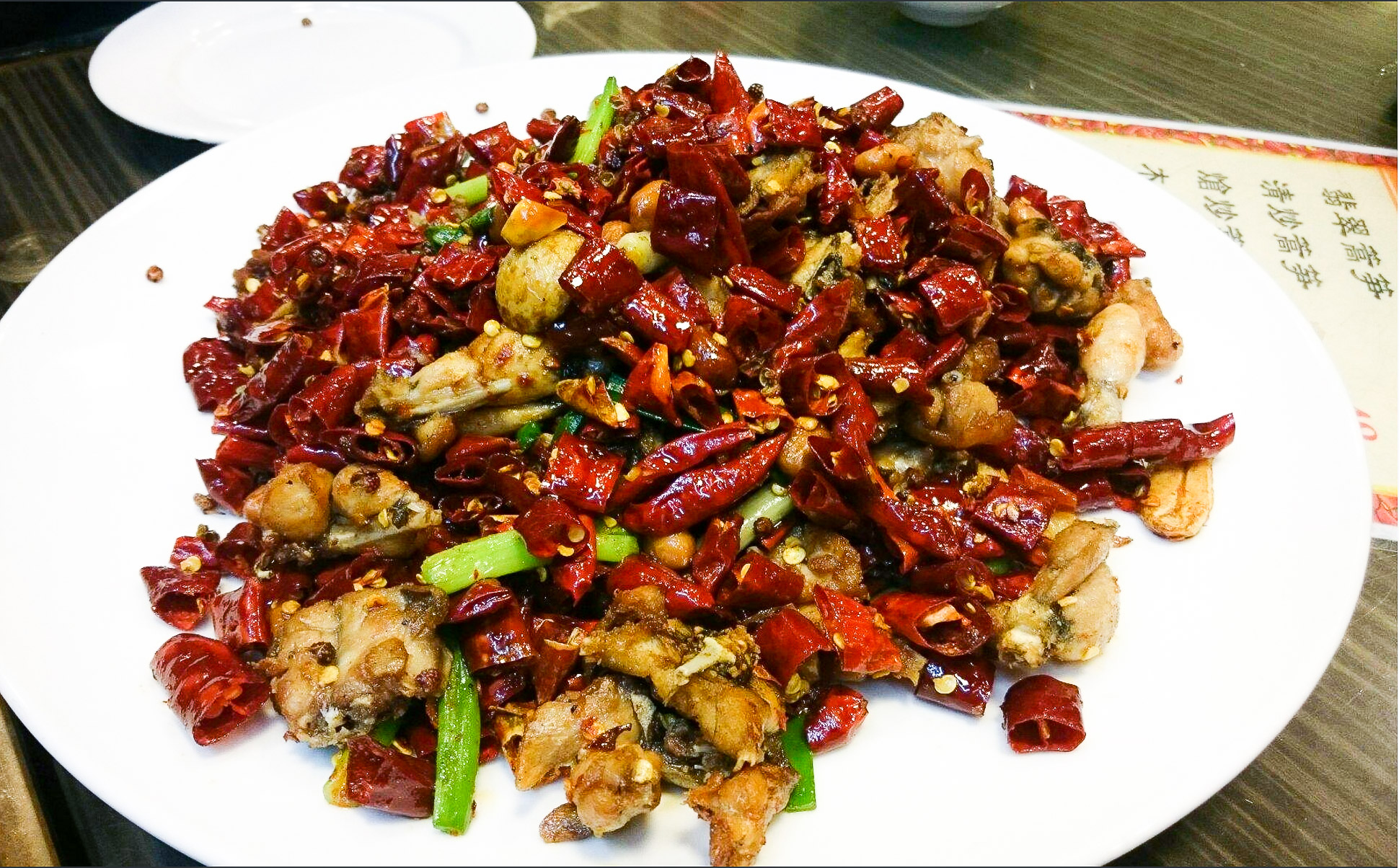 Dry-Fried Bullfrog with Chillis - Photo Credit: Tripadvisor
