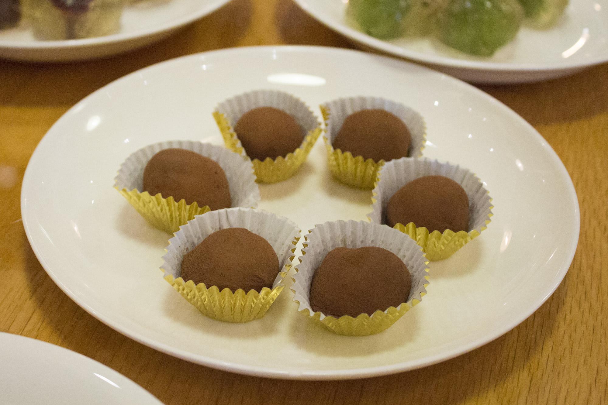 Maltesers glutinous dumplings