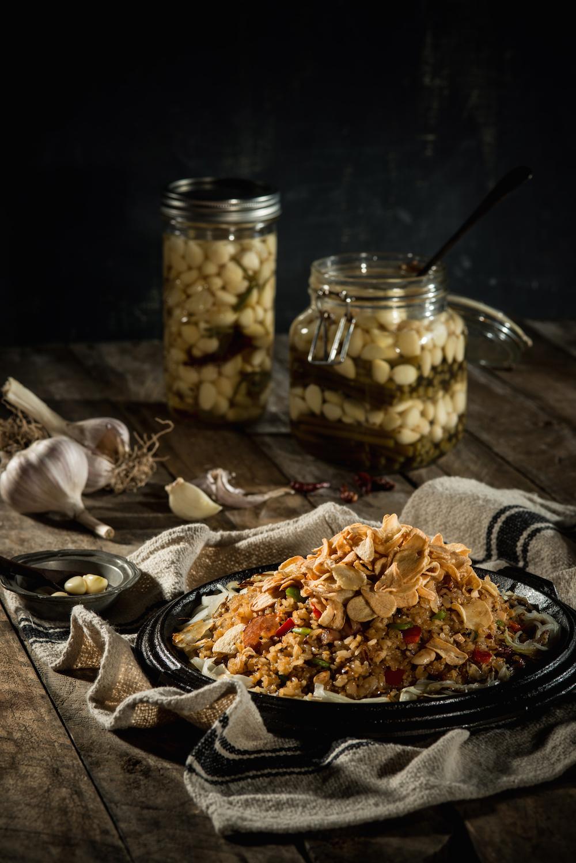 The Garlicholic Rice ($132)