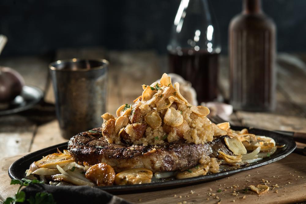 Garlic Steak ($188)