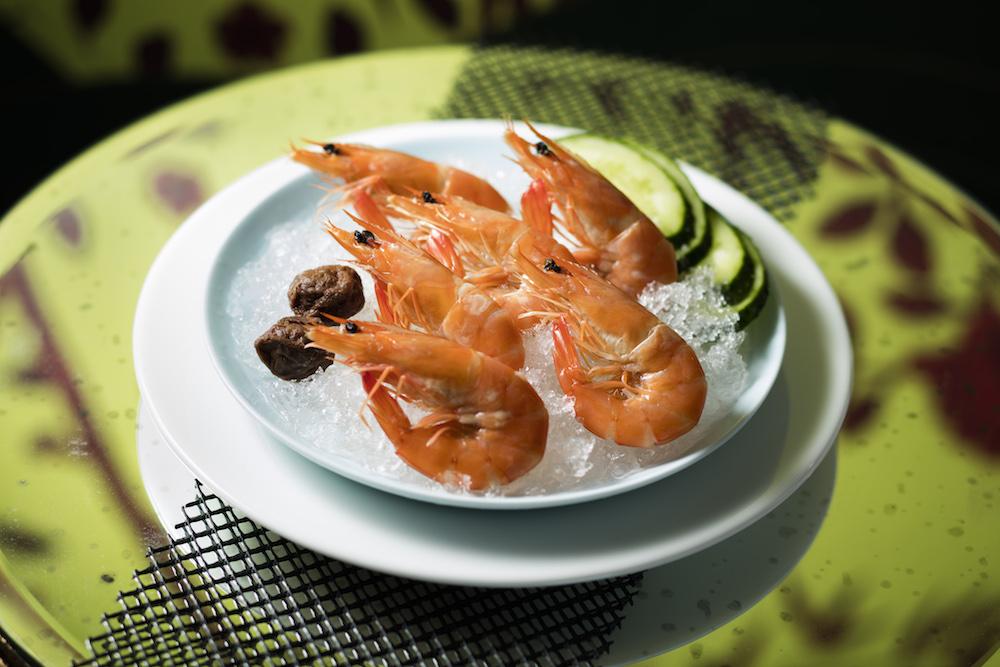 Image: [Cold Dish] Marinated Shrimp with 'Far Dew' Wine & Plum