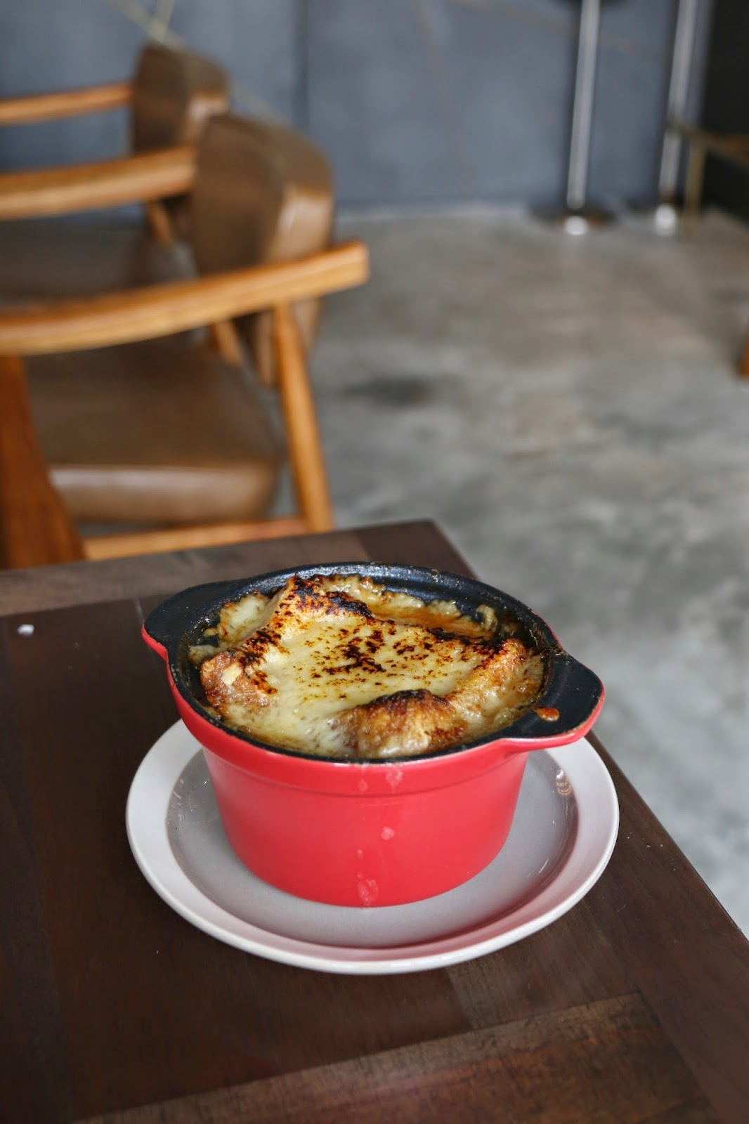 BOND Restaurant & Bar, Little Tai Hang, French Onion Soup