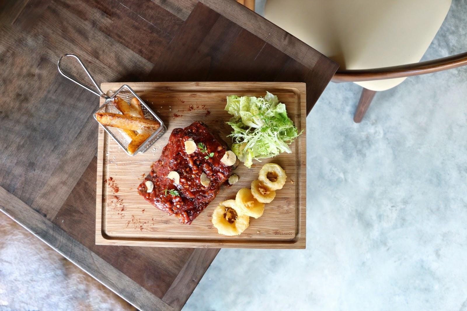BOND Restaurant & Bar, Little Tai Hang, Baby Back Ribs