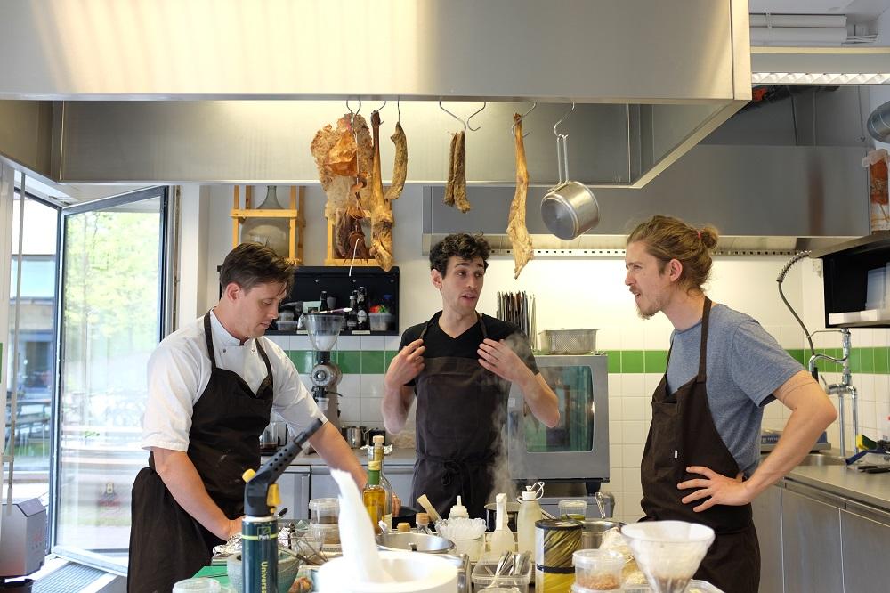 Chef Nurdin, Chef Josh Pollen,  Josh Evans