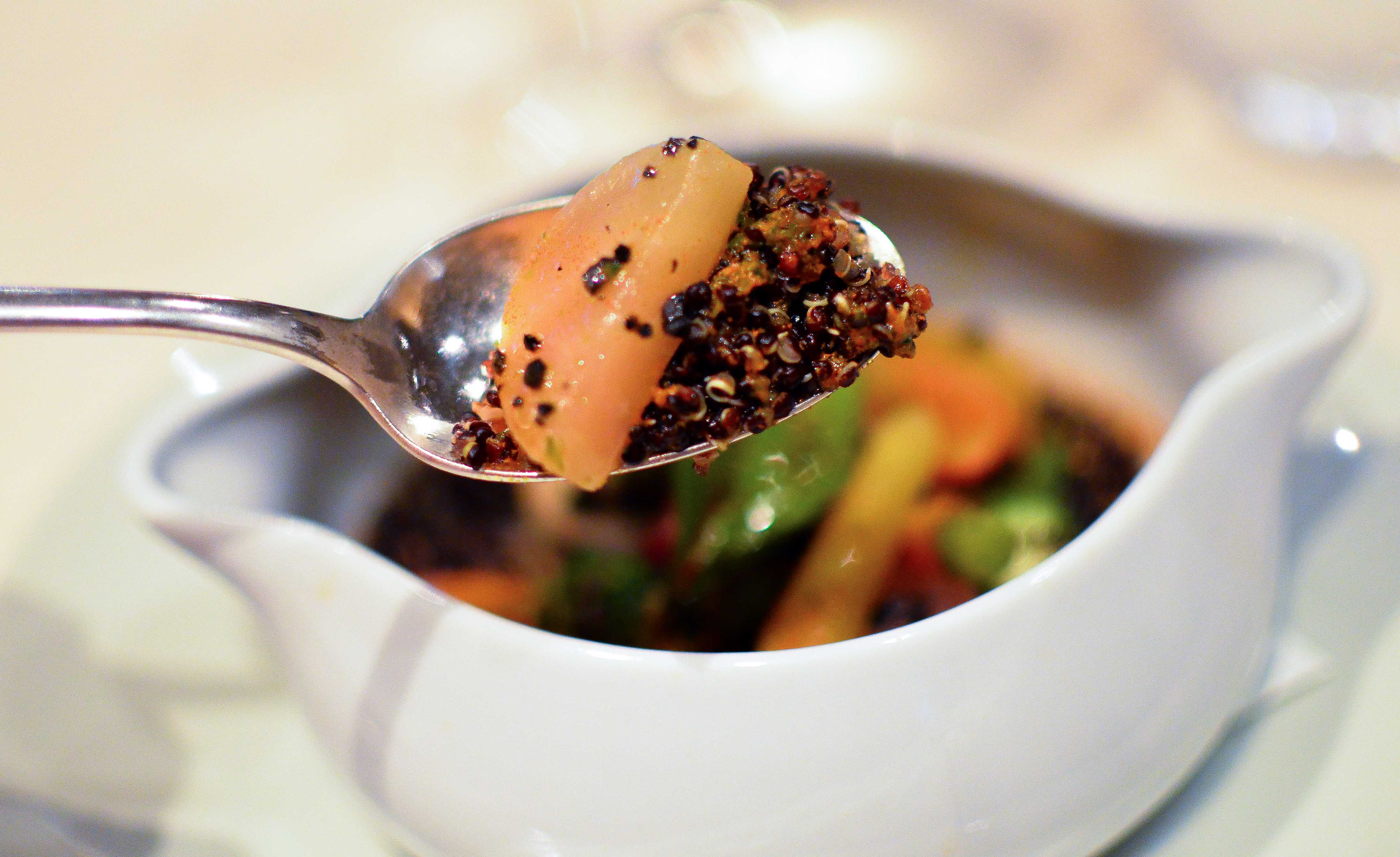 Soft and Crunchy Quinoa