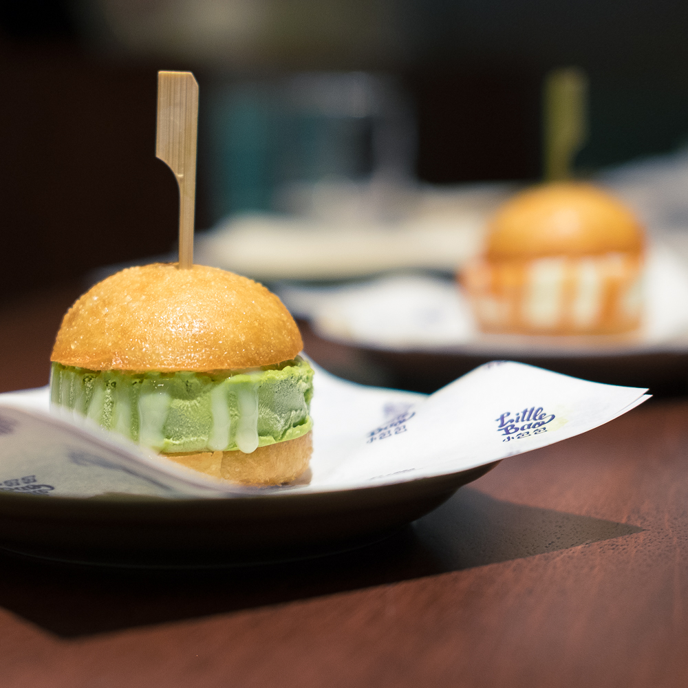 Green Tea Ice Cream Bao