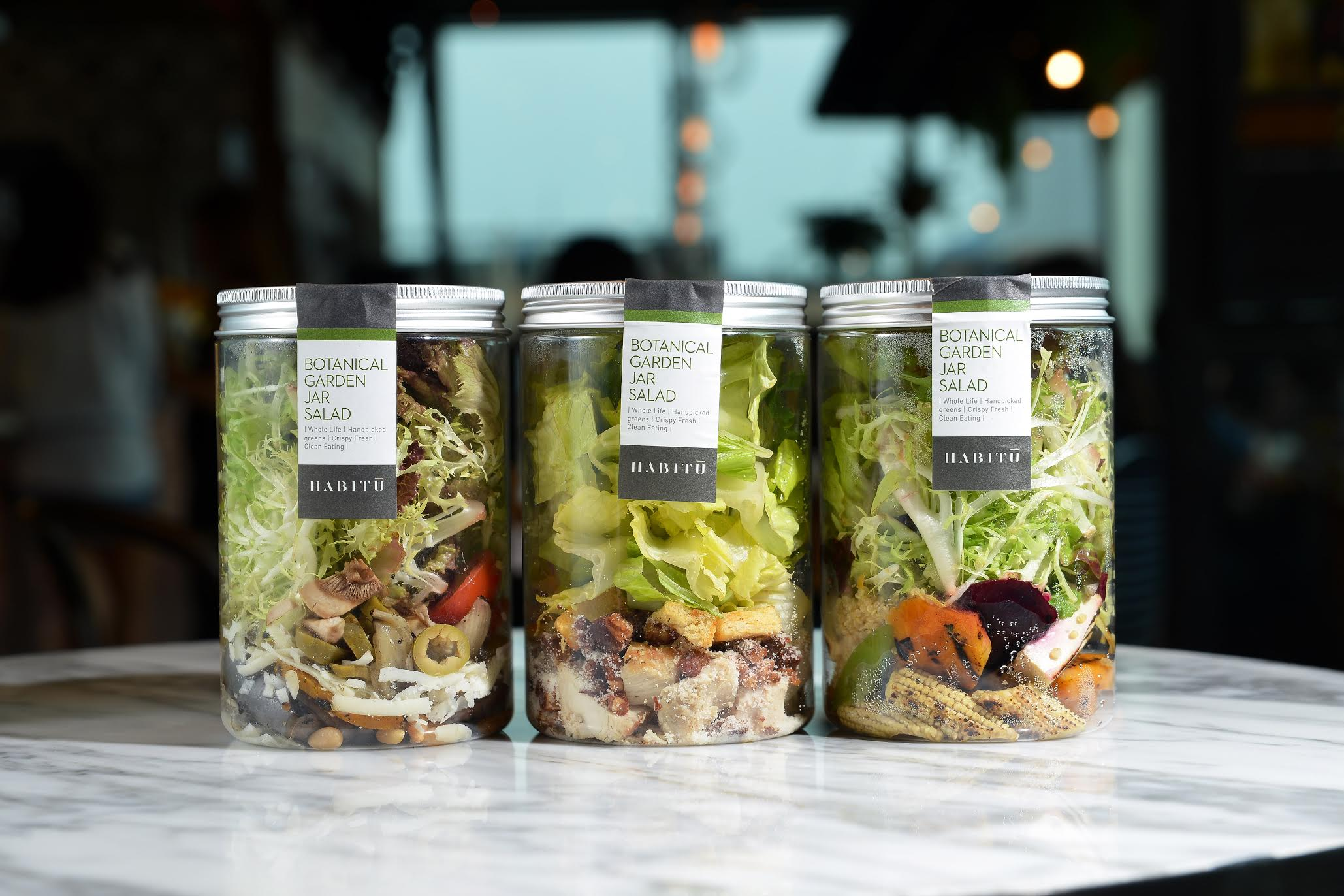 Habitu - Salads in Central