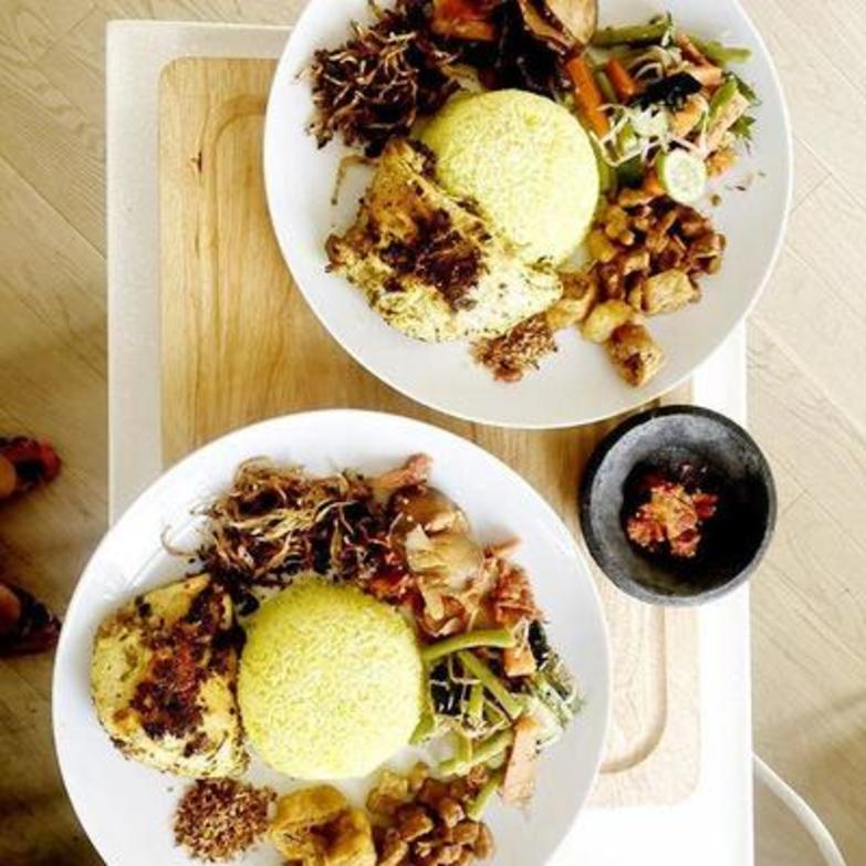 Paola C's Warung Rooftop serves Indonesian classics