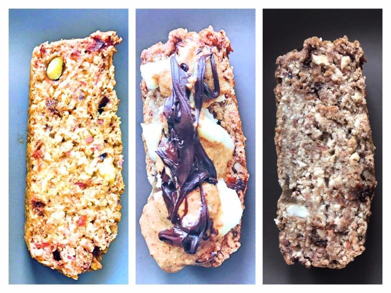gluten free vegan nut bread
