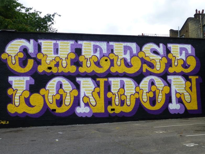 Ben Eine & Cheese London