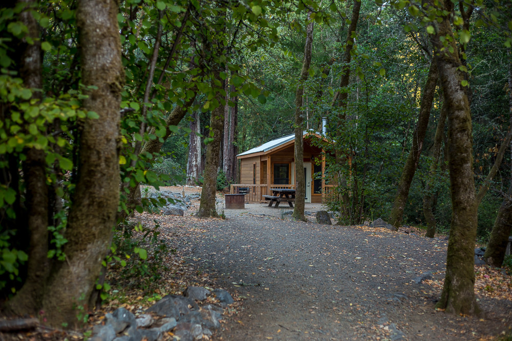 cabin camping in the bay area madrone cabins