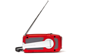 Radio (battery operated or hand crank)