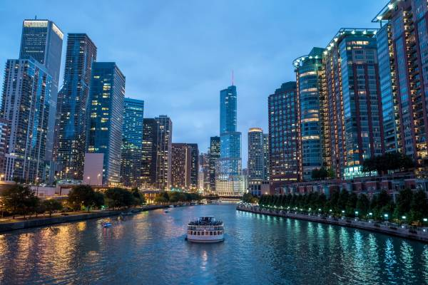December Weather Averages For Chicago USA - Average december temperature in las vegas