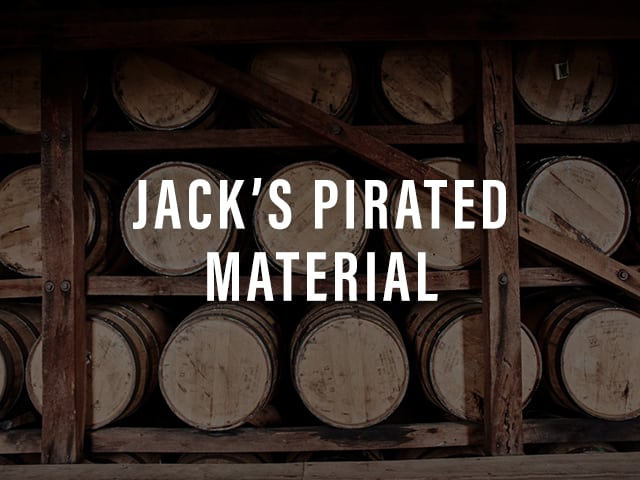 Jack's Pirated Material