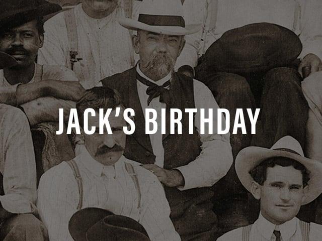 Jack's Birthday