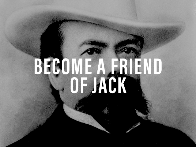 Become a Friend of Jack