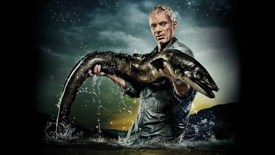 Animal Planet's River Monsters - Conger Eel