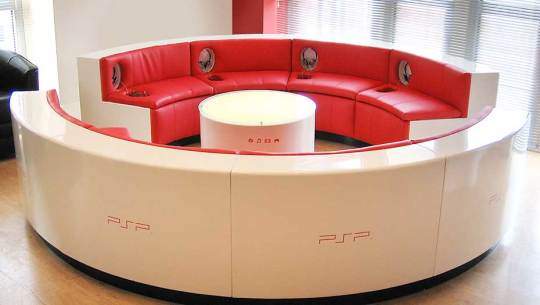 Sony / PSP Demo Lounge