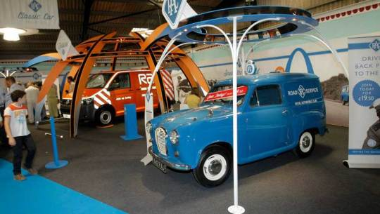 Goodwood Revival exhibition stand