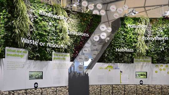 Siemens, The Crystal: Living Wall