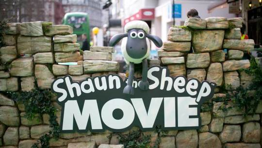 Shaun the Sheep Movie premiere