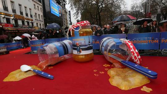 Paddington Bear: The Movie Premiere