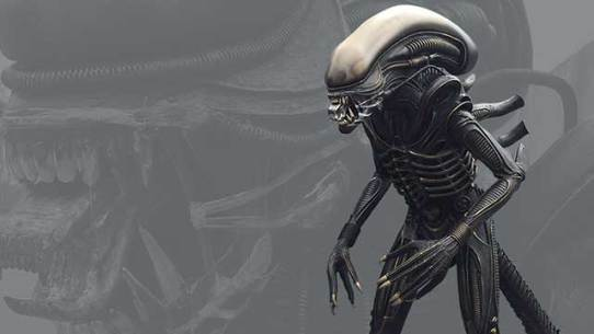 'Alien' - full scale replica