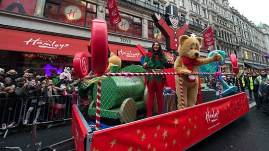 Hamleys Toy Parade Floats