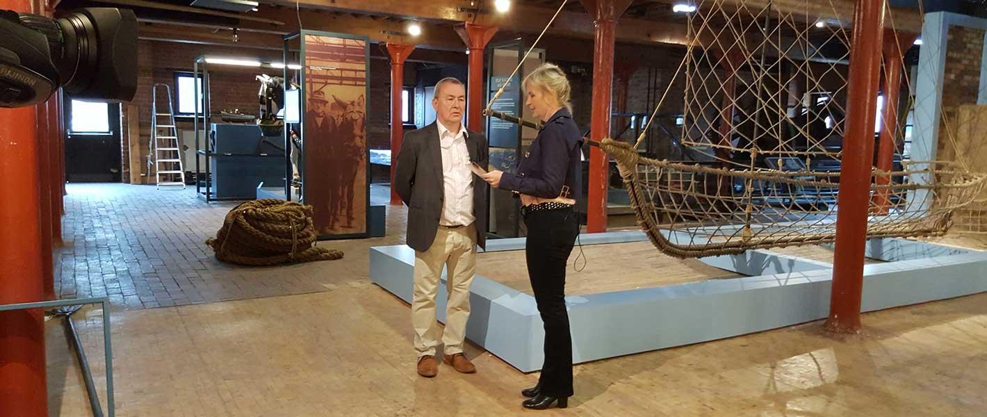 The National Waterways Museum - Severn Trow